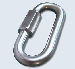 1/2 INCH QUICK LINK ZINC PLATED FITS 3/8 INCH-1/2 INCH CHAIN