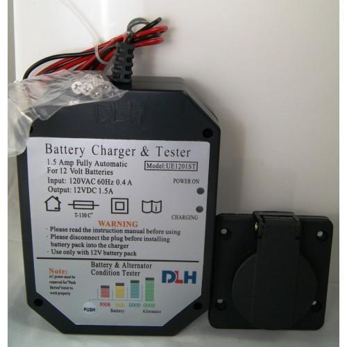 BATTERY CHARGER 12V 1.5 AMP