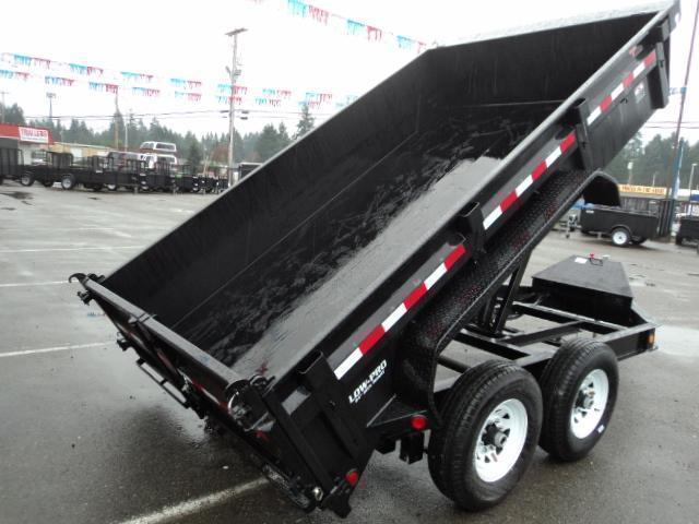 2018 PJ Trailers 7x14 14K Low Pro Dump Trailer