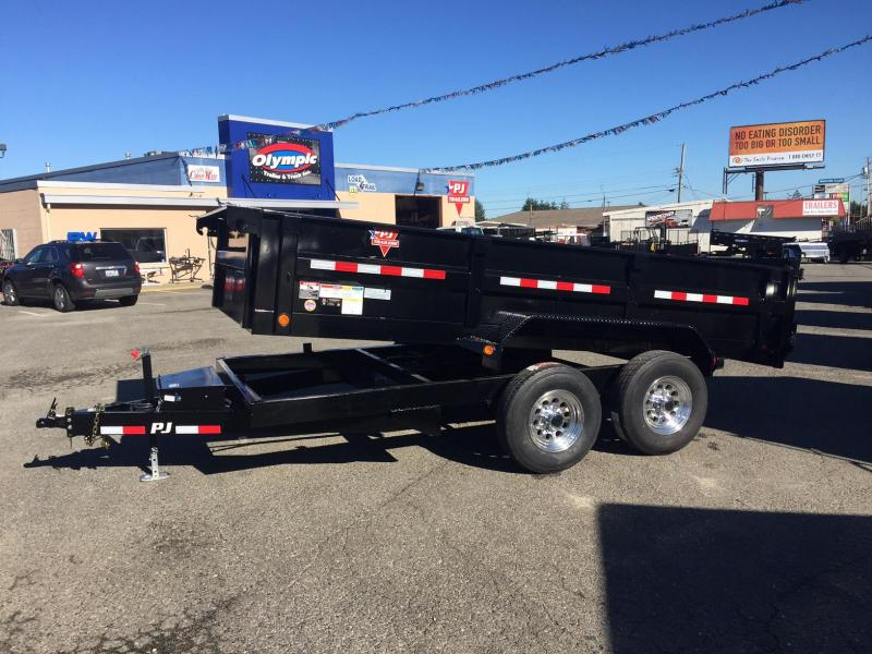 2018 PJ Trailers 7x14 14k w/Aluminum Wheel Upgrade