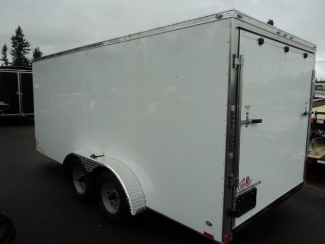 2020 Cargo Mate Challenger 7X16 7K W/Rear Ramp Door