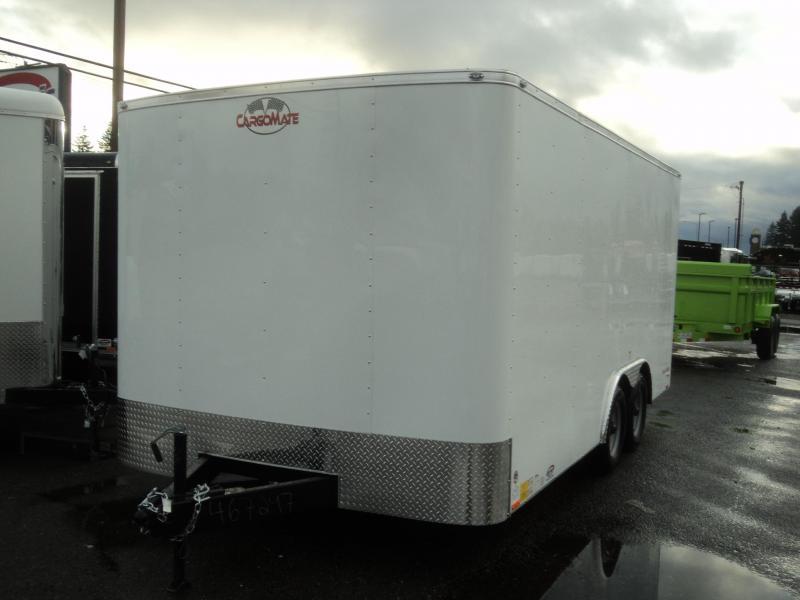 2018 Cargo Mate Challenger 8x16 7K w/Rear ramp door