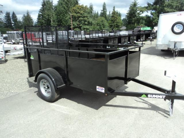 2017 Summit Alpine 5X8 Single Axle Utility Trailer