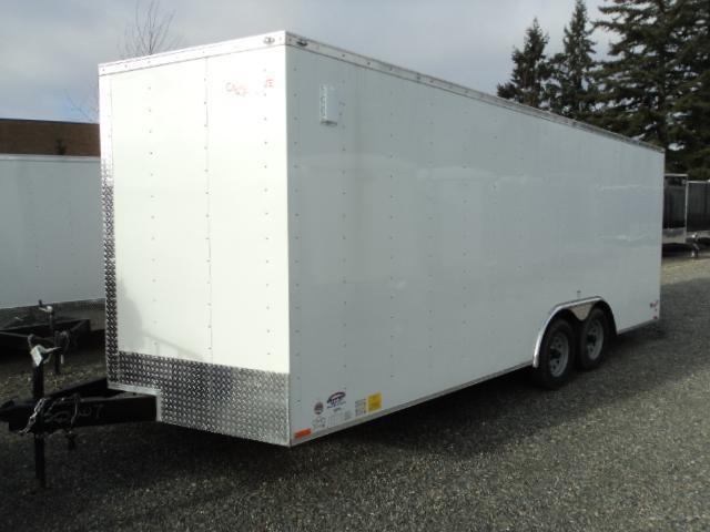 2018 Cargo Mate E-Series  8.5X20 7K w/Rear Ramp Door/D-Rings