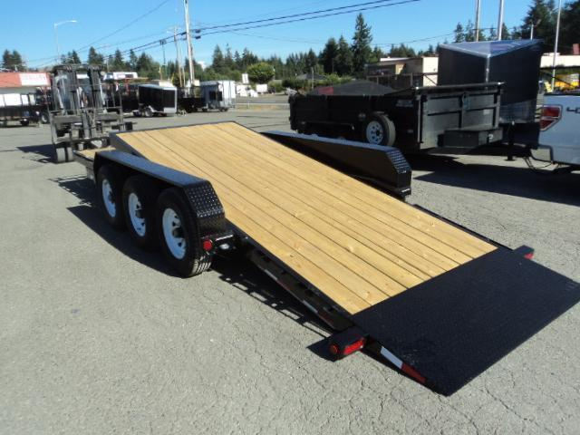 2020 PJ Trailers 7X24 21K Channel Equipment Tilt Trailer