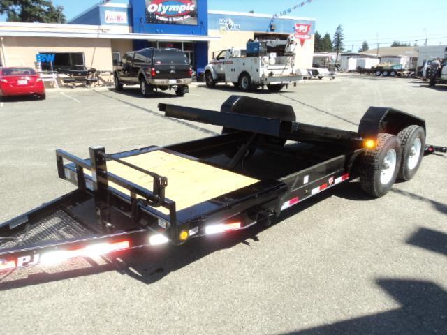 2020 PJ Trailers 7X20 HD 14K Equipment Tilt