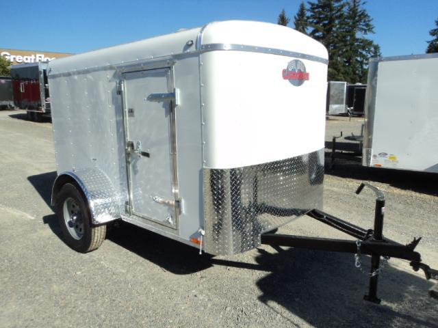 "2018 Cargo Mate Blazer 5x8 with 6"" extra height/Rear Ramp Enclosed Cargo Trailer"