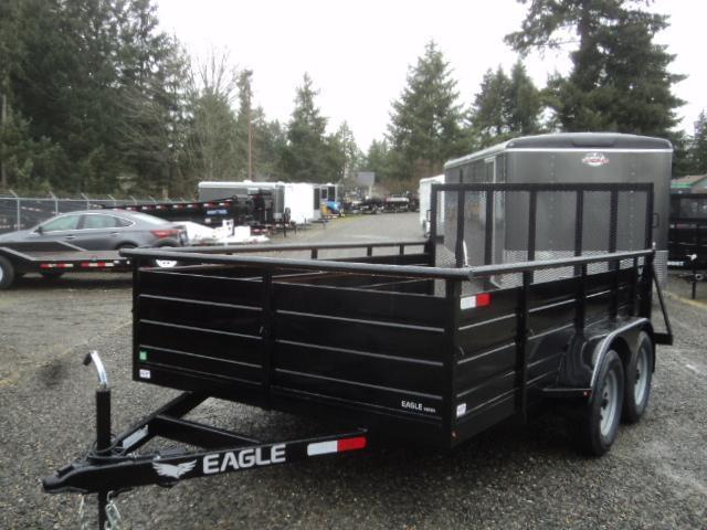 2019 Eagle Trailer 7X14 7k Ultra Classic Utility Trailer