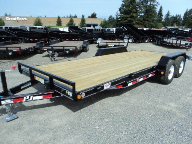 2020 PJ Trailers 7X18 10K Channel Equipment Trailer