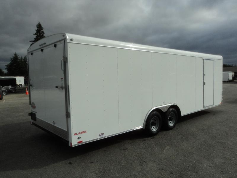 2020 Cargo Mate Blazer 8.5x24 10K w/Escape Door/5K Tie Downs/Ramp Door