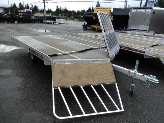 2018 Aluma 8612D 2 PLACE DRIVE ON Snowmobile Trailer