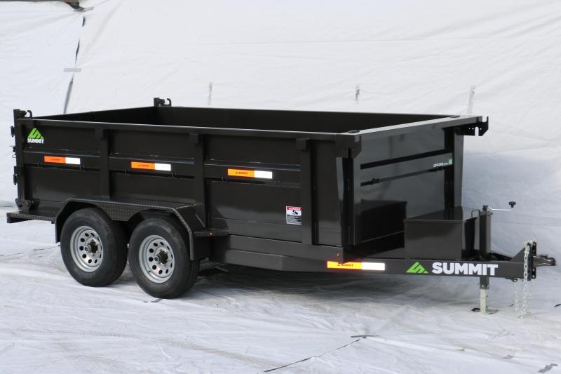 2019 Summit Cascade 6X12 10k Dump Trailer