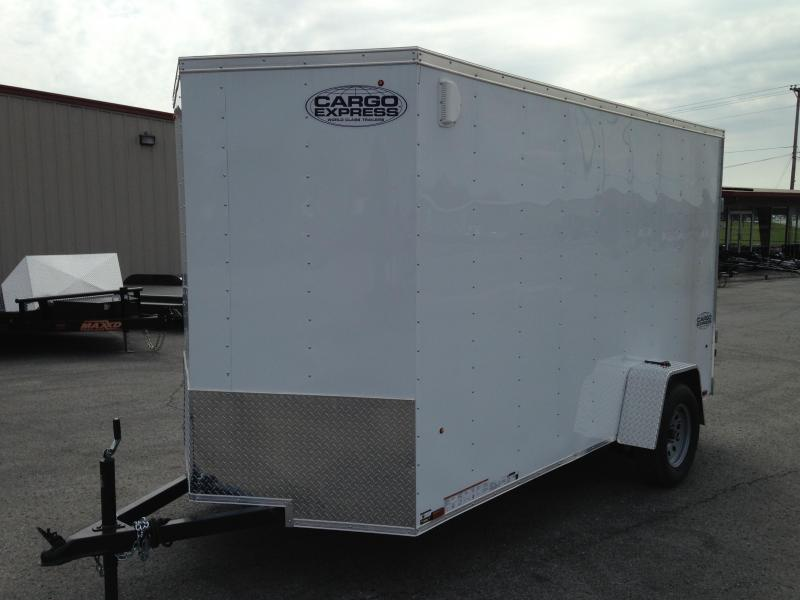 6 X 12 Enclosed Trailer - Cargo Express