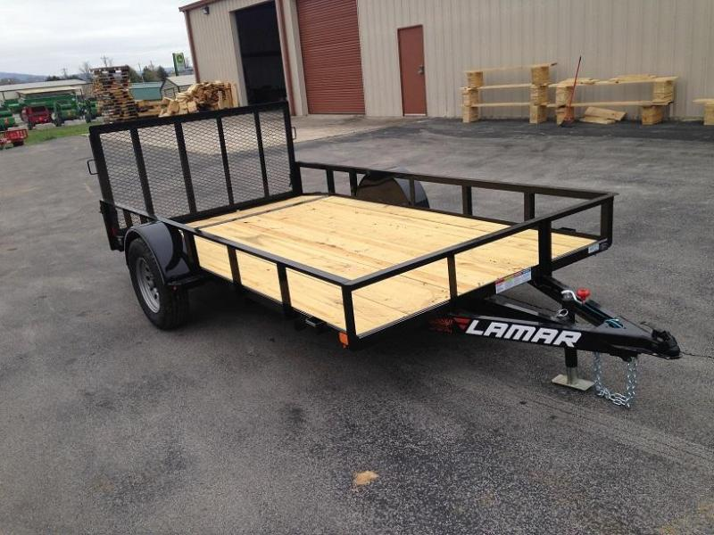 77 X 12 Single Axle Utility - Lamar