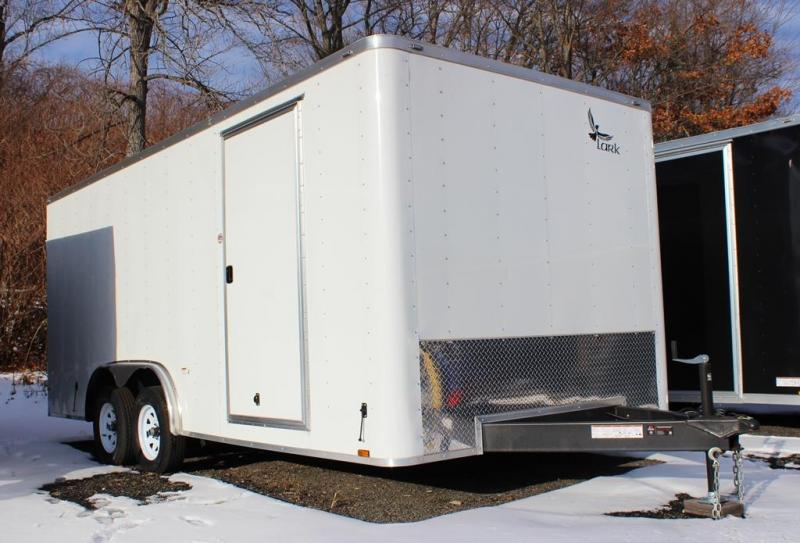 2018 Lark 8x18 Enclosed Cargo Trailer