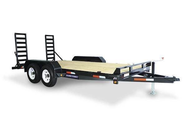 2019 Sure-Trac 7x16 14K Implement Equipment Trailer