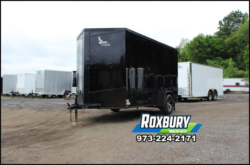 2018 Lark 6x12 Enclosed Cargo Trailer [BLACKOUT]