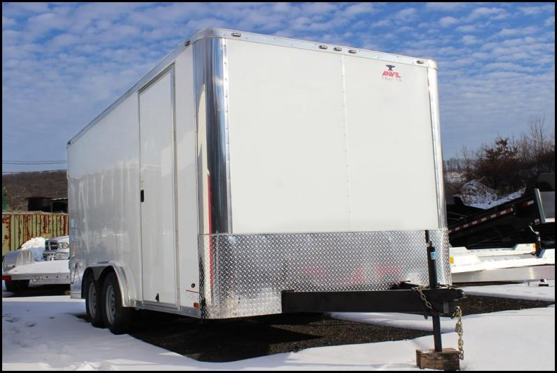 2018 Anvil 8x16 Enclosed Cargo Trailer