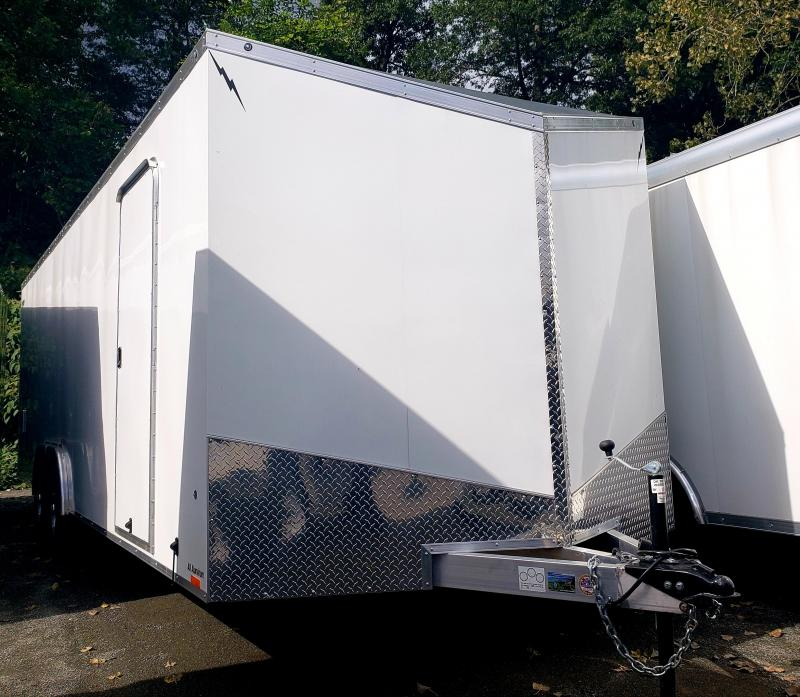 2019 Lightning 8.5x24 10K Enclosed Car Hauler Trailer