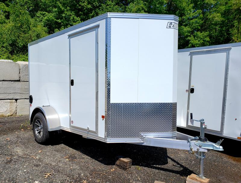2018 EZ Hauler 6x10 Aluminum Enclosed Cargo Trailer