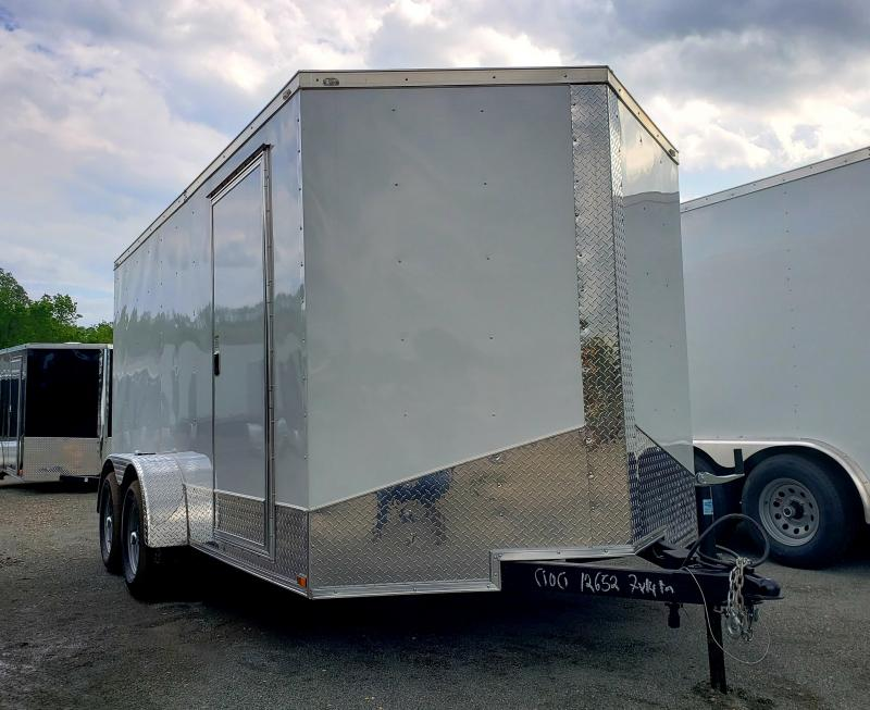 2019 Quality Cargo 7x14 Enclosed Cargo Trailer