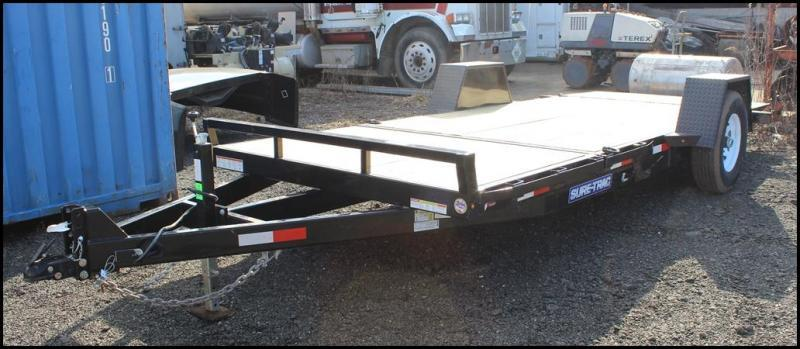 2019 Sure-Trac 6.5x12+4 7.8K Single Axle Tilt Equipment Trailer