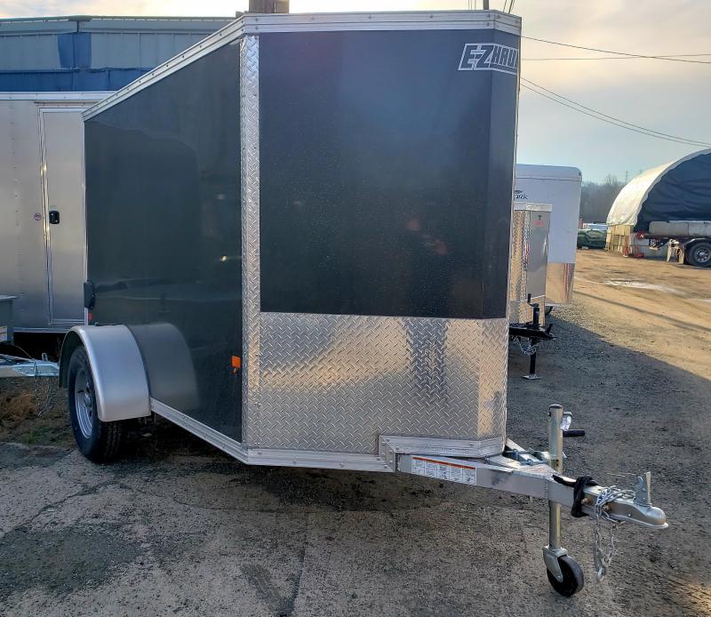 2019 EZ Hauler 5x8 Aluminum Enclosed Cargo Trailer
