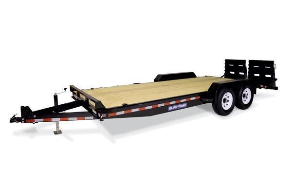 2019 Sure-Trac 7x17+3 14K Universal Ramp Implement Equipment Trailer