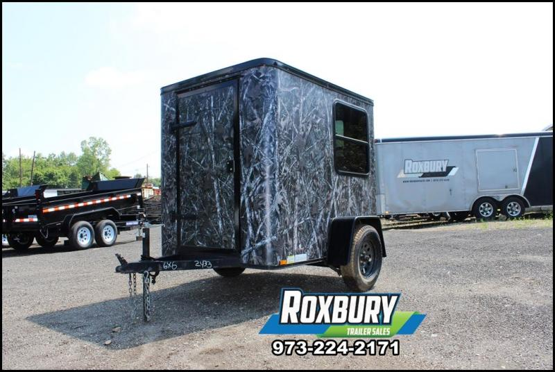 2016 Lark 5x6 Hunting Blind Enclosed Trailer