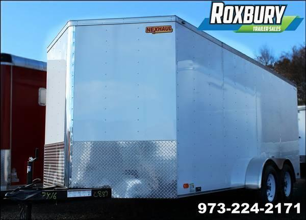 2018 Nexhaul 7x16 Enclosed Cargo Trailer