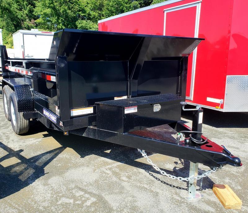 2019 Sure-Trac 6x12 10K Low Profile Dump Trailer [SCISSOR]