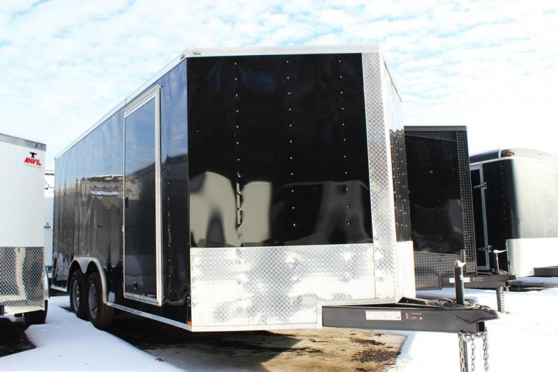 2018 Lark United 8.5x18 Enclosed Car Hauler Trailer