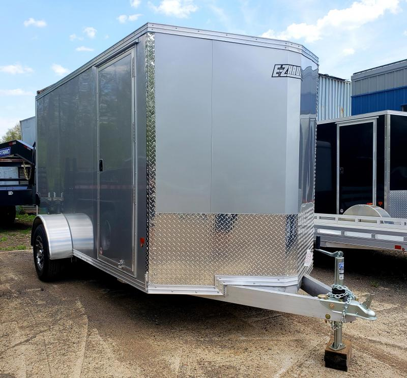 2018 EZ Hauler 6x12 Aluminum Enclosed Cargo Trailer