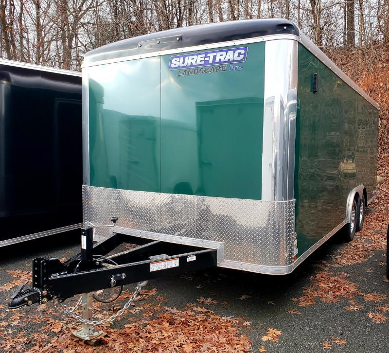2019 Sure-Trac 8.5x24 10K Landscape Pro Enclosed Cargo Trailer
