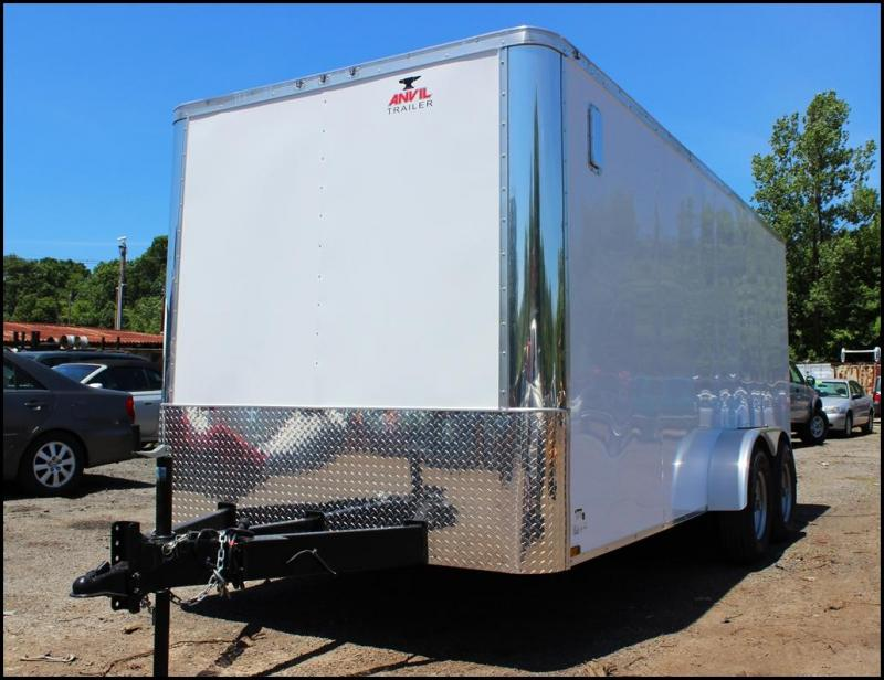2018 Anvil 7x14 10K Enclosed Landscape Trailer