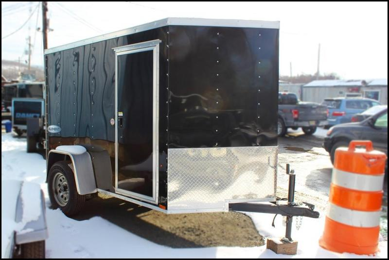 2018 Look Element 5x8 Enclosed Cargo Trailer