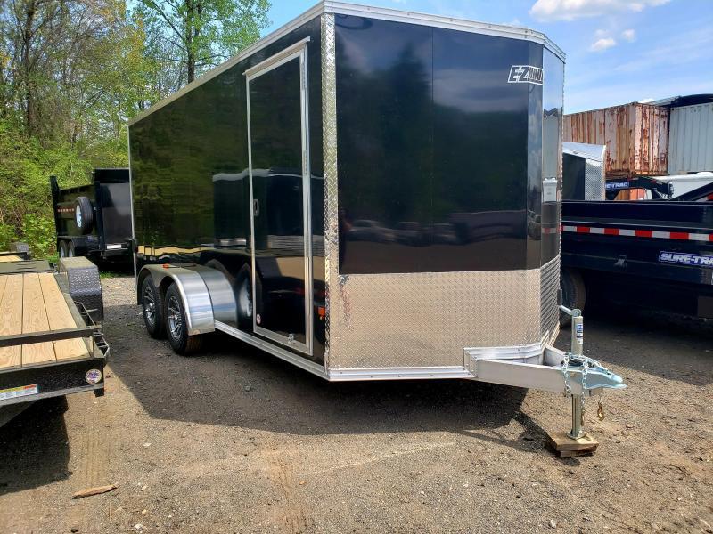 2019 EZ Hauler 7X16 Aluminum Enclosed Cargo Trailer