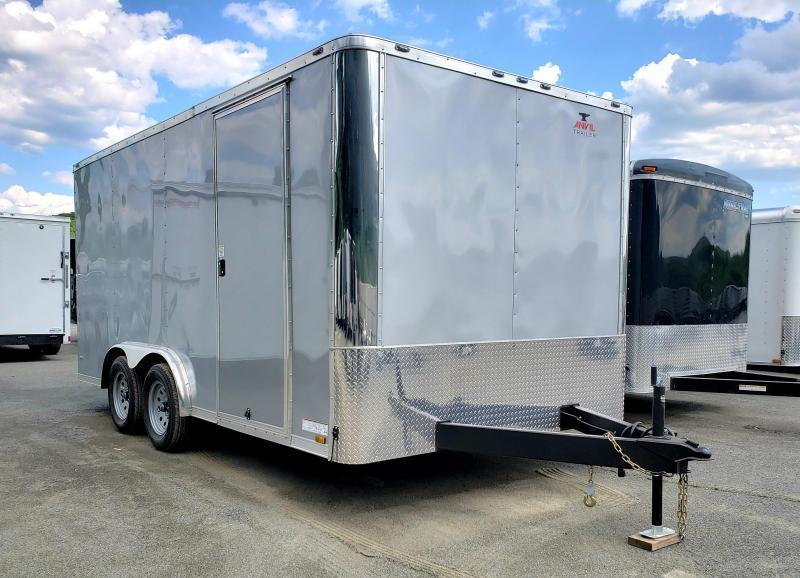 2020 Anvil 8x16 Enclosed Cargo Trailer