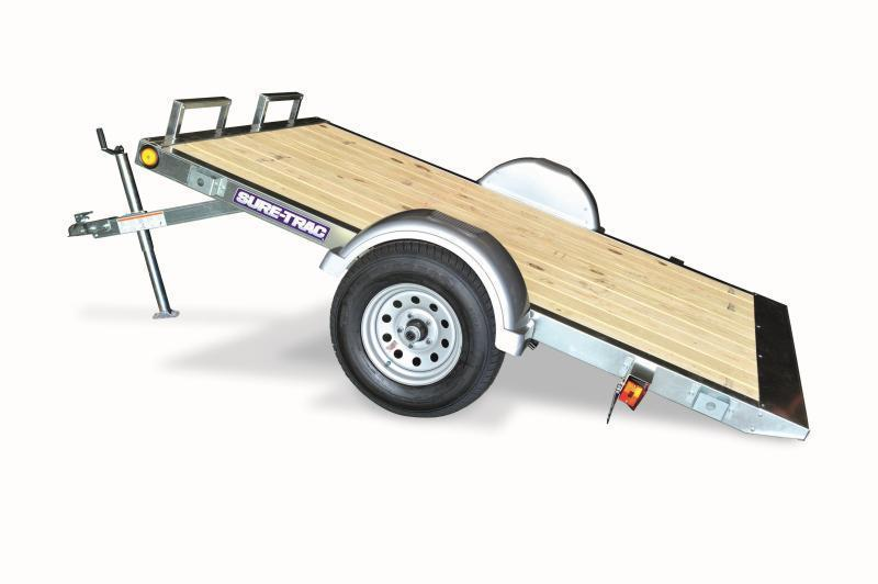 2019 Sure-Trac 5x8 Galvanized Tilt Utility trailer