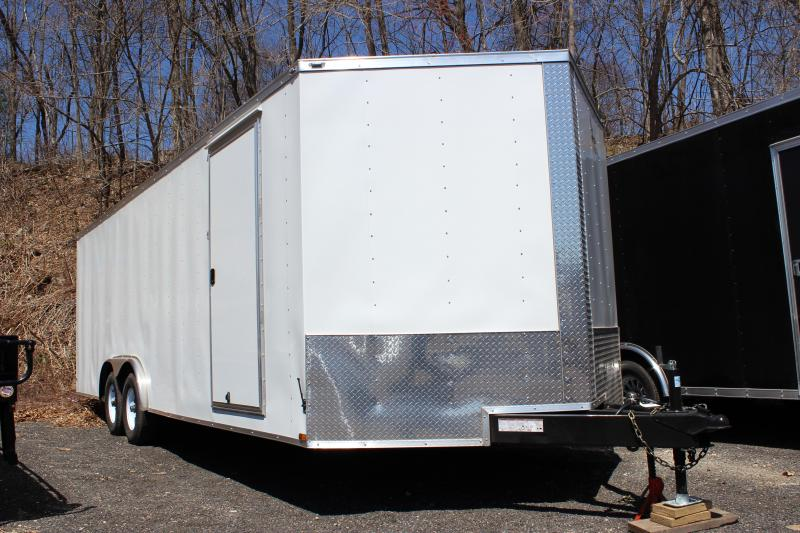 2018 Lark United 8.5x24 Enclosed Car Hauler Trailer