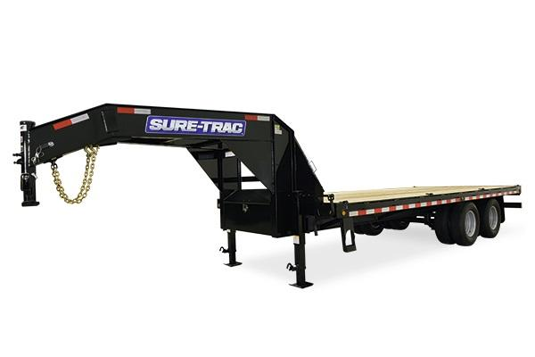 2018 Sure-Trac 8.5x20+5 Gooseneck Deckover Equipment Trailer