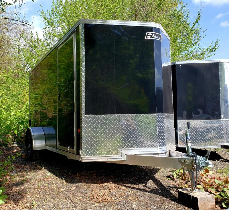 2018 EZ Hauler 6x12 Aluminum Enclosed Motorcycle Trailer