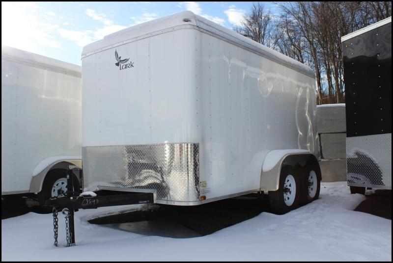 2018 Lark 6X12 7K Enclosed Cargo Trailer