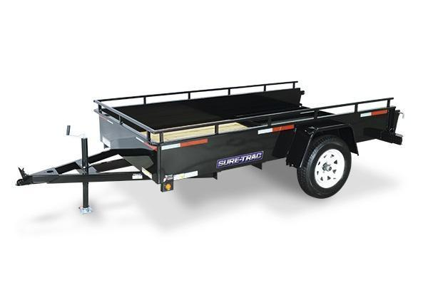 2019 Sure-Trac 5x10 Steel High Side Utility Trailer