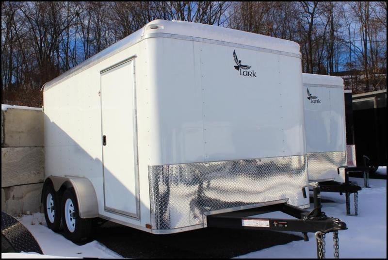 2018 Lark 7X12 7K Enclosed Cargo Trailer