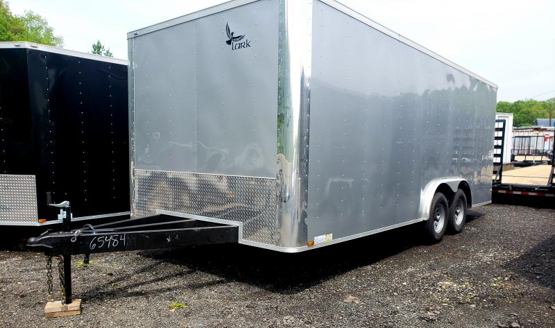 2018 Lark United 8.5x20 Enclosed Car Hauler Trailer