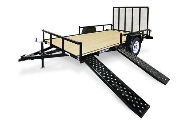 2018 Sure-Trac 7x12 ATV Tube Top Utility Trailer