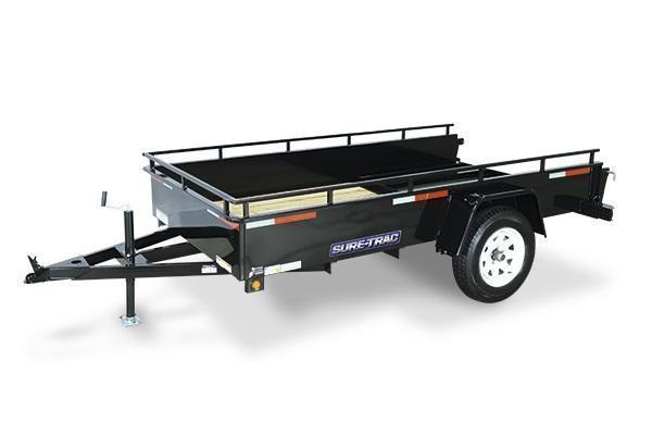 2019 Sure-Trac 6x12 Steel High Side Utility Trailer