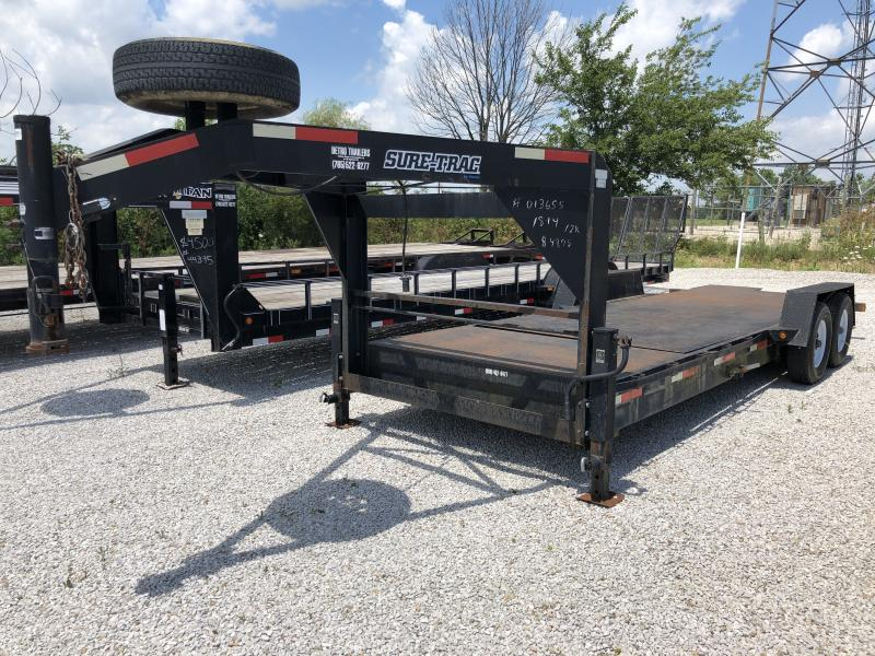 USED 2008 Sure-Trac 18+4 GN TILT Flatbed Trailer