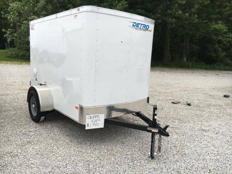 2018 American Hauler Industries 5X8 Enclosed Cargo Trailer